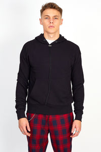 NIGHT ADDICT OVERSIZED BACK PRINT HOODIE – BLACK