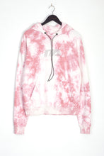 NIGHT ADDICT PINK DIAMONTE DETAIL TIE DYE HOODIE