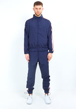 NYLON SIDE TAPE ZIP THROUGH - NAVY
