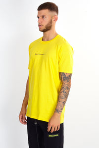 NIGHT ADDICT YELLOW 'CHANGES' T-SHIRT SIDE
