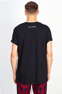 NIGHT ADDICT 'I'D SAY GO TO HELL' TEE - BLACK