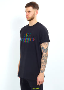 RAINBOW METALLIC LOGO TEE