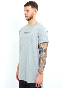 NIGHT ADDICT GREY 'TRUST THE JOURNEY' TEE SIDE