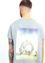 NIGHT ADDICT GREY 'TRUST THE JOURNEY' TEE BACK DETAIL