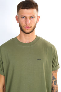 NIGHT ADDICT 'OFFLINE' TEE - KHAKI
