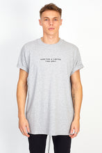'HERE FOR A LIMITED TIME ONLY' TEE - GREY