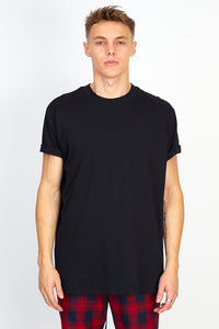 NIGHT ADDICT 'STAY IN YOUR LANE' BACK PRINT TEE - BLACK