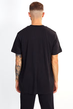 NIGHT ADDICT REFLECTIVE PRINT TEE - BLACK