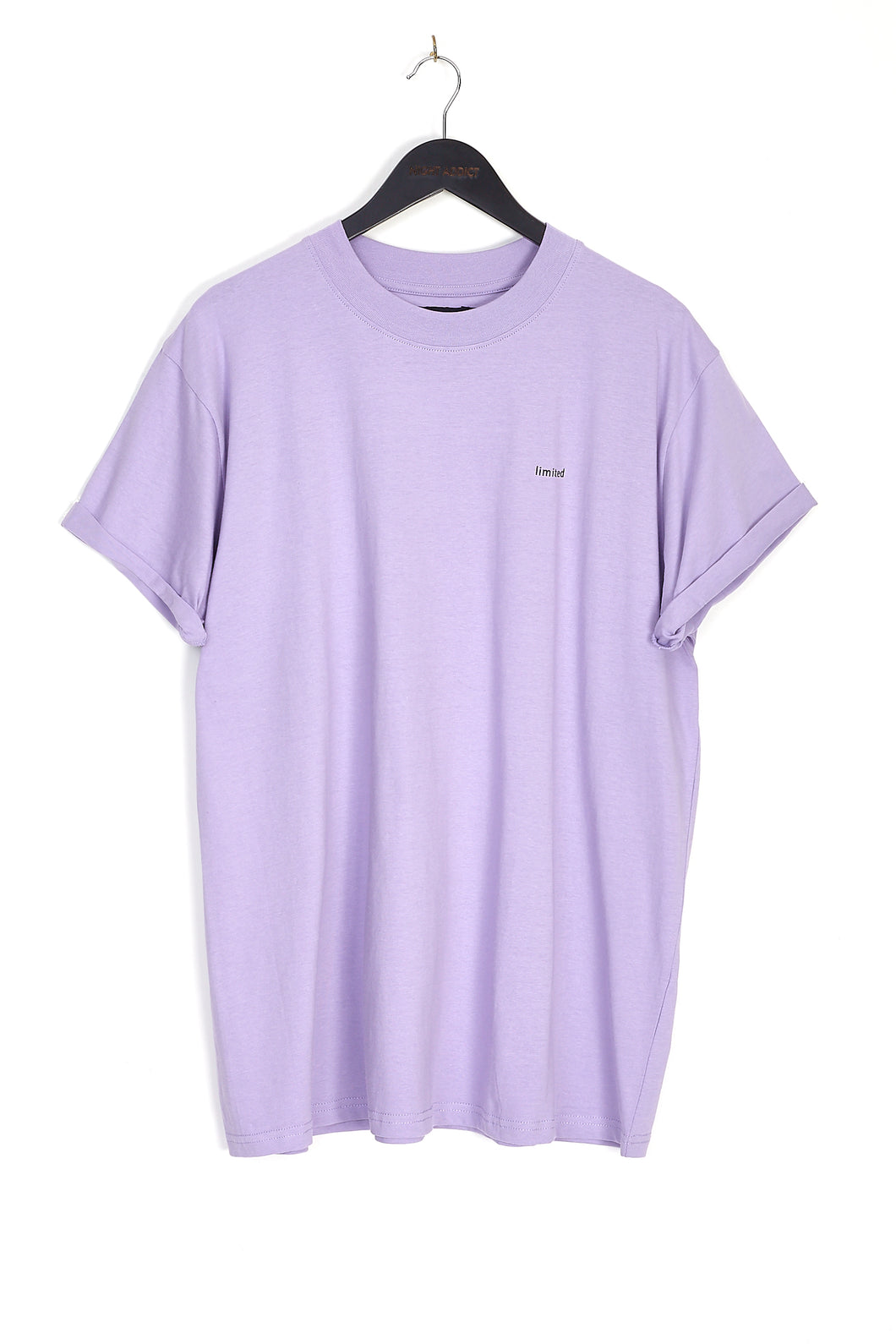 NIGHT ADDICT LILAC LIMITED OVERSIZED T-SHIRT FRONT