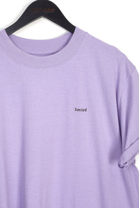 NIGHT ADDICT LILAC LIMITED OVERSIZED T-SHIRT DETAIL