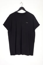 NIGHT ADDICT BLACK LIMITED OVERSIZED T-SHIRT FRONT