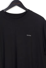 NIGHT ADDICT BLACK LIMITED OVERSIZED T-SHIRT DETAIL