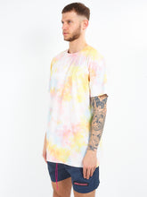 TIE DYE T-SHIRT - YELLOW
