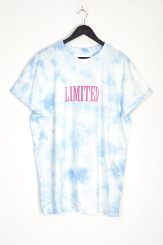 NIGHT ADDICT TIE DYE 'LIMITED' T-SHIRT - BLUE