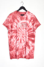 NIGHT ADDICT TIE DYE 'LIMITED' T-SHIRT - PINK
