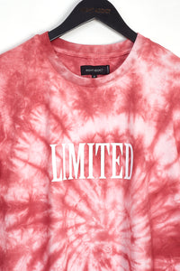 TIE DYE 'LIMITED' T-SHIRT - PINK