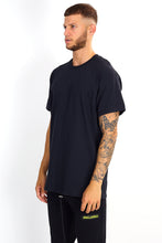 NIGHT ADDICT 'BAD HABITS' BACK PRINT TEE - BLACK