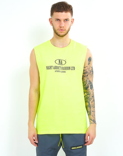 NEON YELLOW BASKETBALL VEST