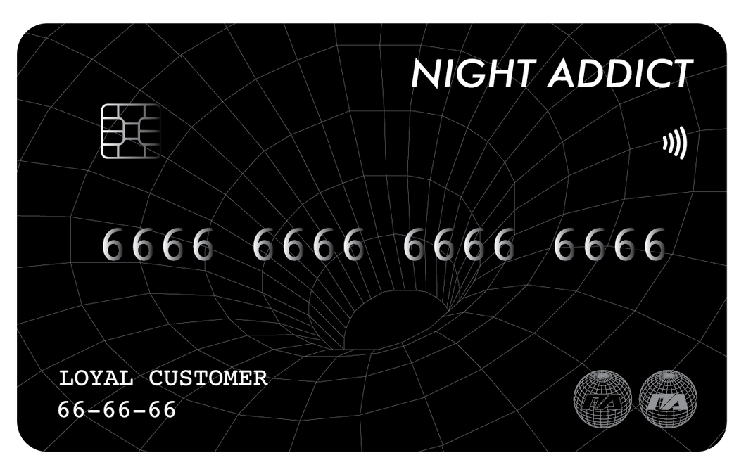 NIGHT ADDICT GIFT CARD