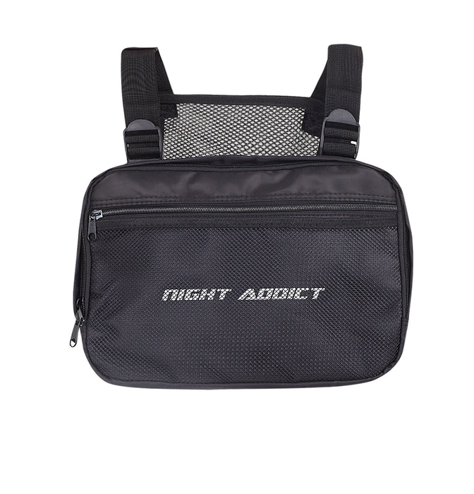 NIGHT ADDICT MESH PANEL FRONT BODY BAG