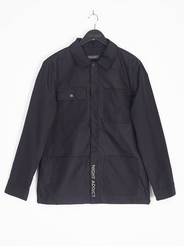 NIGHT ADDICT BLACK FOUR POCKET JACKET