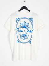 NIGHT ADDICT 'BORN GLOBAL' WHITE BACK PRINT TEE BACK