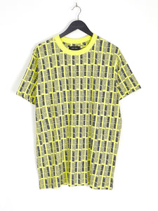 ALL OVER PRINT TEE - NEON YELLOW