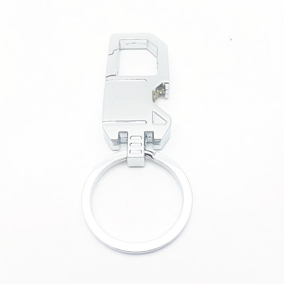 Clip-on Bottle Opener Key Chain