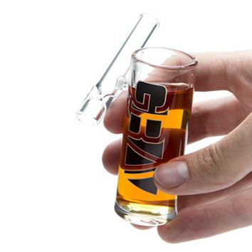 Grav Labs 3 Inch Shot Glass Taster Pipe