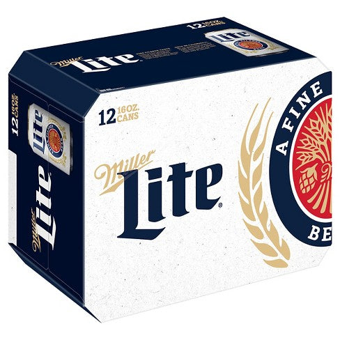 Miller Lite Cans - alcobacco-store