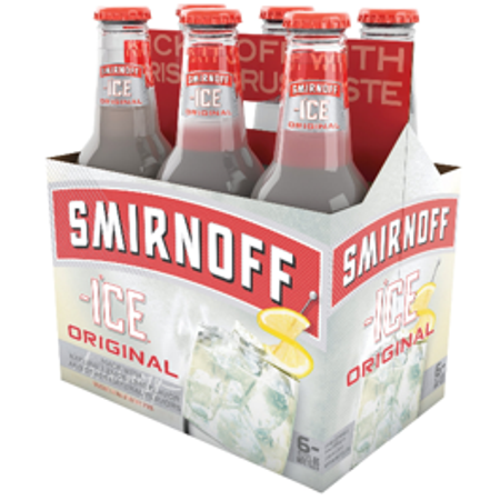 Smirnoff Ice Original 11.2 Oz 6 Pack Bottles