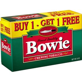 Bowie Buy 1 Get 1 Free Chewing Tobacco