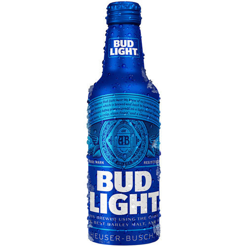 Bud Light 16oz Aluminium Bottle