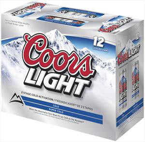 Coors Light Cans - alcobacco-store