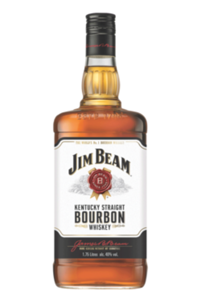 Jim Beam Bourbon Whiskey - alcobacco-store
