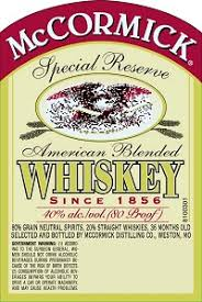 McCormick American Blended Whiskey 375ml