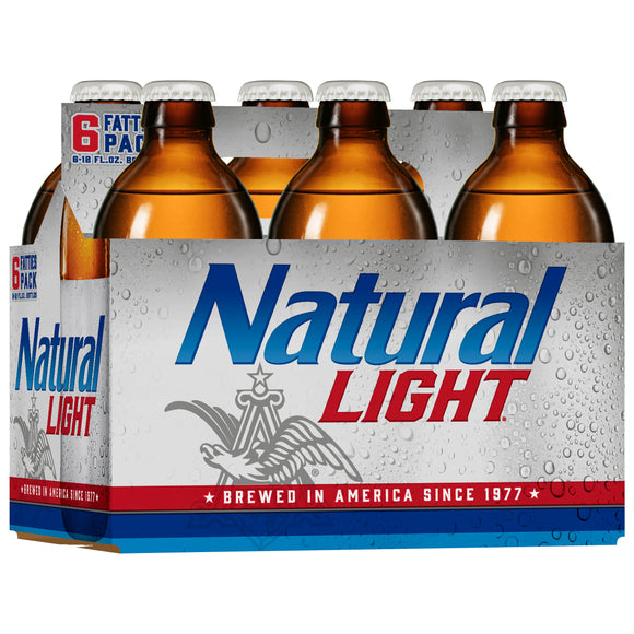 Natural Light Bottles - alcobacco-store