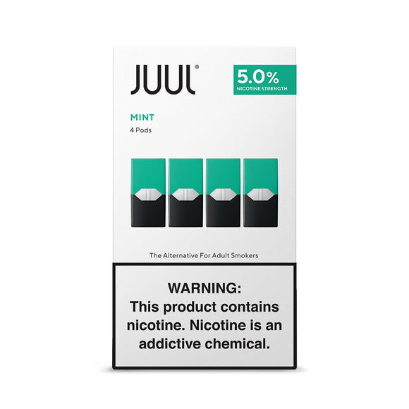 Juul Replacement Pods - Mint - alcobacco-store
