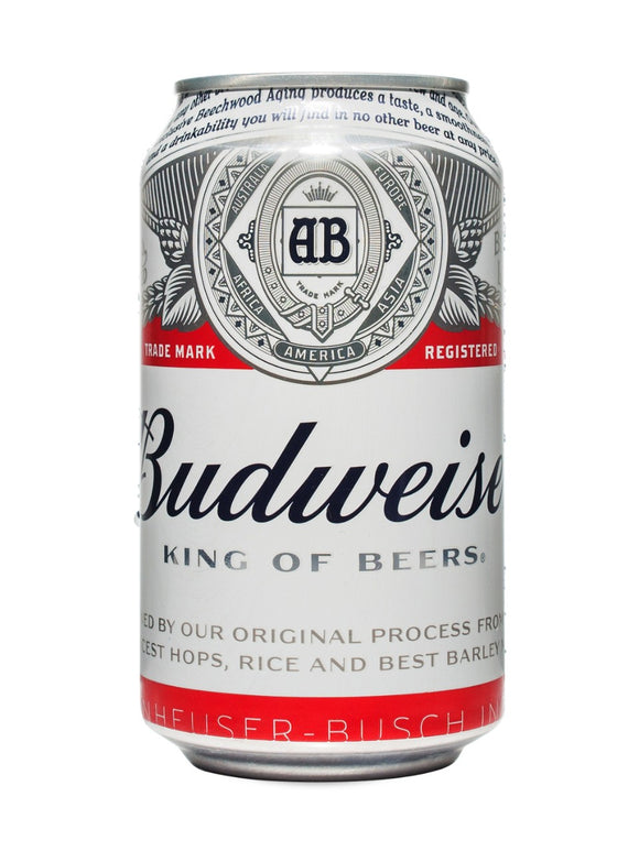 Budweiser Can - alcobacco-store
