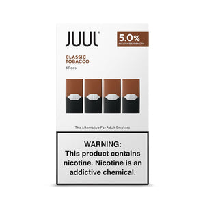 Juul Replacement Pods - Classic Tobacco - alcobacco-store