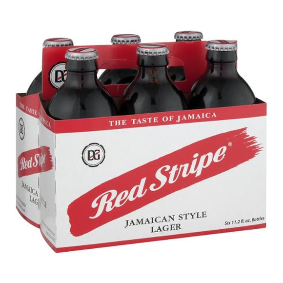Red Stripe Jamaican Beer, 6 Pack