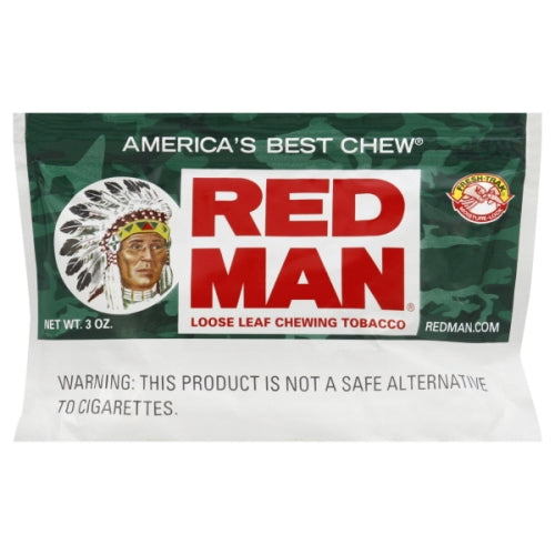 Redman 3oz Chewing Tobacco Pouch