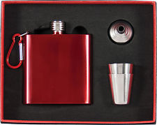 Liquor Flask Set - Stainless Steel