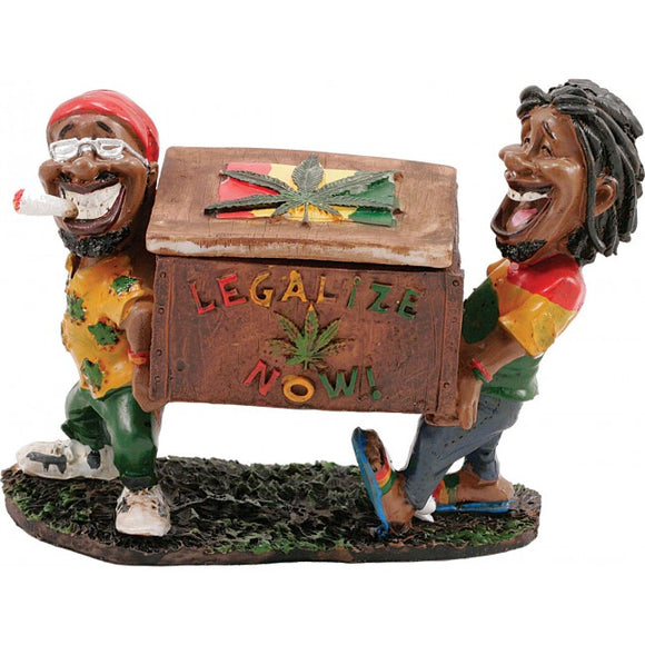 Legalize Now Two Jamaican Men Ashtray