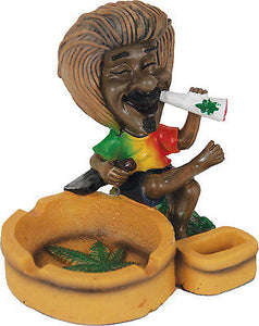 Smoking Jamaican With Ashtray - alcobacco-store