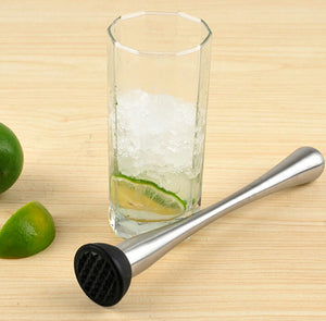 Mint Muddler Stainless Steel Swizzle Stick - alcobacco-store