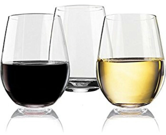 SOCIAL Stemless Wine Glasses by Home Essentials