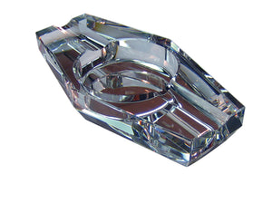 Crystal Hexagon Cigar Ashtray In Gift Box