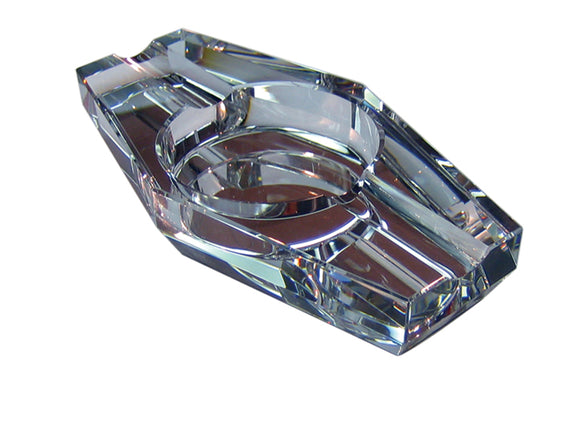 Crystal Hexagon Cigar Ashtray In Gift Box - alcobacco-store