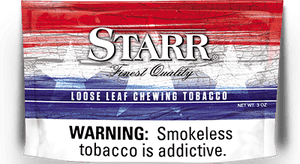 Starr Buy 1 Get 1 Free 6oz Chewing Tobacco Pouch